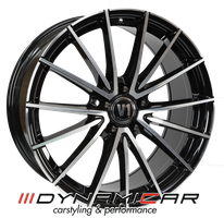 V1 Wheels V2 schwarz glänz poliert