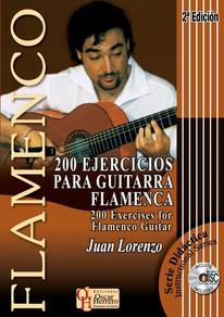 200 Ejercicios para guitarra flamenca