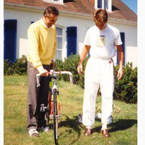 Bernard Hinault en Jos Daems