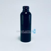 Envase boston sonata PET 60ml negro, botella boston