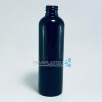 Envase PET boston negra 125ml., Botella PET negra