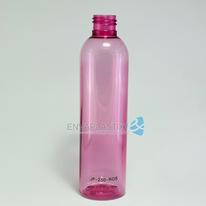 Envase boston 250ml. rosa, Botella PET rosa