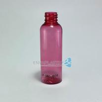 Envase boston 60ml PET rosa, Botella jefferson rosa