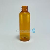 Envase boston 60ML. naranja, Botella PET naranja