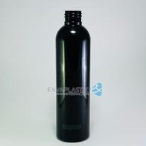 Envase boston 250ml. negro, Botella PET negra