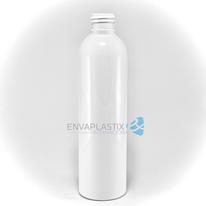 Envase boston 250ml. blanco, Botella PET blanca