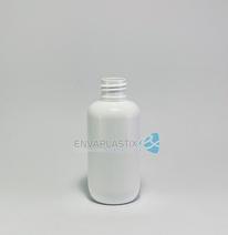 Envase PET blanco 125ml. , Botella PET blanca