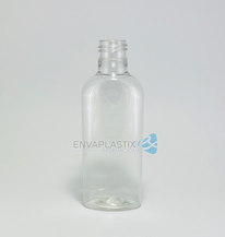 Envase oval pet 125ml