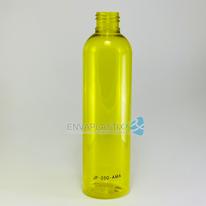 Envase PET boston amarilla 250ml., Botella amarillo