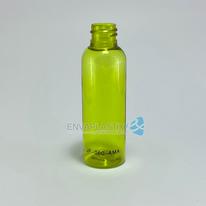 Envase boston 60ml PET amarillo, Botella jefferson amarillo