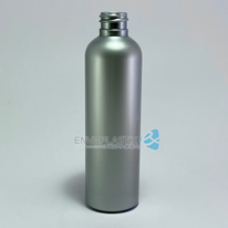 Envase PET boston plata 125ml., Botella PET plata