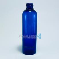 Envase boston 125ml. cobalto, Botella PET azul