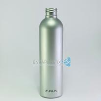 Envase PET boston plata 250ml., Botella sonata plata