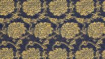 掛軸表装 仏用緞子 準金襴牡丹紋