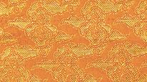 掛軸表装 仏用緞子 準金襴四ツ手雲(内廻し用)