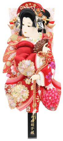 羽子板「正絹振袖」道成寺