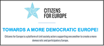 Citizens for Europe support each other to create a participatory and democratic Europe