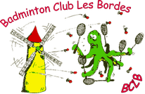 Logo Badminton Club Les Bordes (BCLB)