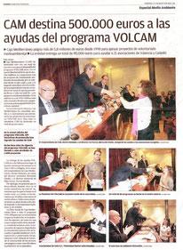 Nota de premsa apareguda en Levante-EMV el 21-05-10.