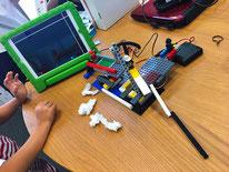 ICTスクールNEL,創作タイム,遊びと学び