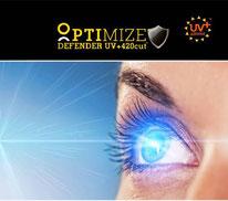 """Линзы для Очков """"OPTIMIZE"""" Single Vision 1.74 AS DEFENDER UV420 SATIN - Израиль"""