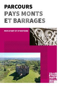 livret publication parcours pays monts et barrages patrimoine pays d'art et d'histoire pah monts et barrages 2020