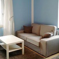 Bild: komplett eingerichtete Wohnung in Biberach im nordischen Stockholm-Stil