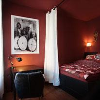 Bild: voll eingerichtete Wohnung in Biberach im afrikanischen Stil