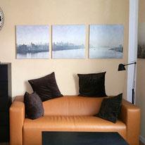 Bild: möbliertes Appartement im modernen New York Stil