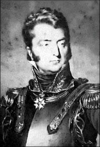 General Chouard, commandant la 1ère brigade de la 4ème division de cuirassiers