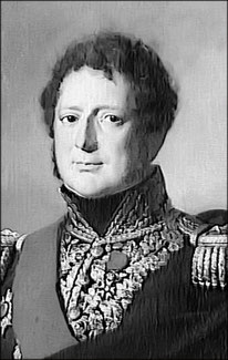 General Paultre de Lamotte, commandant la 2ème brigade de cuirassiers