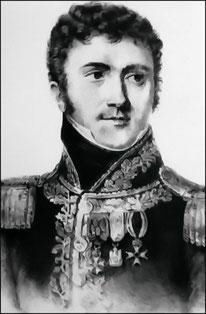 General Jean Marie Defrance, commandant la 4ème division de cuirassiers