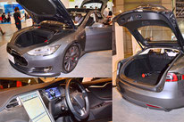 テスラモーターズの電気自動車