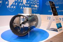 茨城製作所の水力発電機