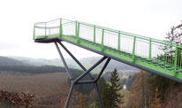 zum Skywalk nach Pottiga im thüringischen Vogtland