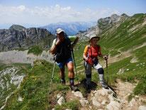 Bergwanderung auf die ROFANSPITZE 2259m