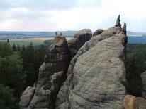 Klettern im Sandstein