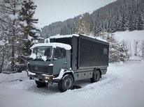 4x4 Weltreisemobil Zirbenbox Mercedes Benz 1024
