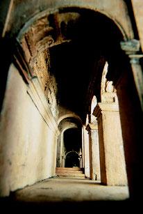 CARLO LUCANGELI E PAOLO DALBONO Modello dell'Anfiteatro Flavio, 1790-1812 veduta prospettica Roma, Soprintendenza Speciale per il Colosseo e l'area archeologica centrale di Roma Foto Zeno Colantoni
