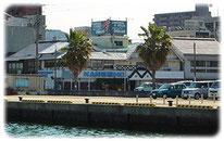 港のレストラン「かねしょう」