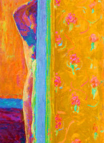 A detail after Pierre Bonnard's Nude, now in Washington