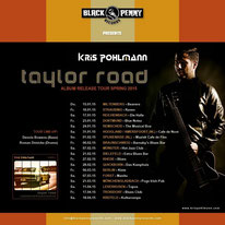 Kris Pohlmann: The Taylor Road-Tour seit 15. Jan (Foto: HP KP)