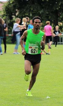 Yossief Tekle beim Landkreislauf 2019