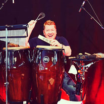 Ulli Baral, Percussionist bei Coming Home TV