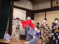 寿曽我の対面 木馬亭 浅草こども歌舞伎