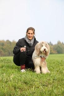 Anja Suter mit Jinn