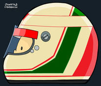 Helmet of ANDREA de CESARIS by Muneta & Cerracín