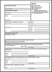 Formular Genehmigung