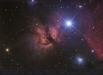 NGC 2024  ,  Flammennebel