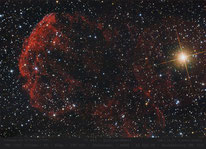 IC  443 , Quallennebel